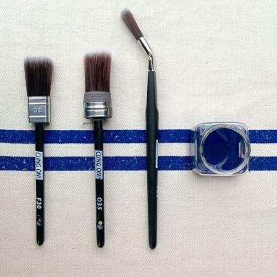 Cling on Brush Paint Brush Chalk Paint Brush