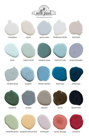 Color Chart Miss Mustard Seed's Milk Paint